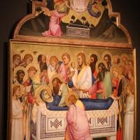 Niccolò di pietro gerini, Dormitio e Assunzione della Vergine, 1370-75 circa (parma, gn) 03 curvatura della tavola - Sailko - Parma (PR)