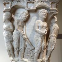 Benedetto antelami, capitello con storie della genesi 02, dal duomo di parma, 1178, lavoro dei progenitori - Sailko - Parma (PR)