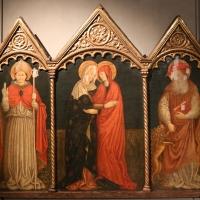 Jacopo loschi, visitazione tra i ss. ilario e girolamo, 1460-70 ca. 01 - Sailko - Parma (PR)