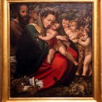 Alessandro mazzola bedoli, sacra famiglia con s. giovannino e due angeli, 1567 ca - Sailko - Parma (PR)