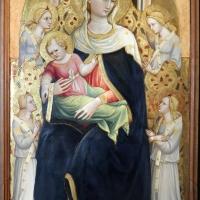 Bicci di lorenzo, madonna col bambino in trono e quattro angeli, 1433, da s. niccolò in cafaggio a firenze - Sailko - Parma (PR)