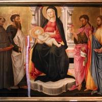 Neri di bicci, madonna col bambino e quattro santi, 1440-50 ca - Sailko - Parma (PR)