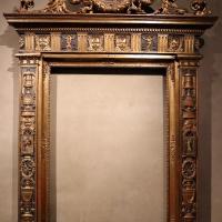 Bottega parmense, cornice di ancona d'altare, 1500-25 ca., da s. giovanni evangelista, 00 - Sailko - Parma (PR)