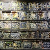 Bottega pesarese, pavimento maiolicato dal monastero di san paolo a parma, 1470-82 ca., 06 - Sailko - Parma (PR)