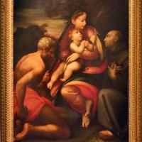 Parmigianino (da), madonna col bambino, san girolamo e il beato bernardino da feltre, 1610 ca - Sailko - Parma (PR)