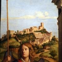 Cima da conegliano, madonna col bambino tra i ss. michele e andrea, 1498-1500, 02 paesaggio - Sailko - Parma (PR)