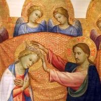 Gherardo starnina, incoronazione della vergine e angeli, 1400-10 ca. 02 - Sailko - Parma (PR)