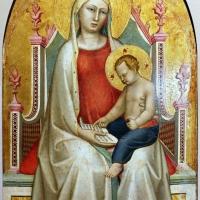 Bernardo daddi, madonna con bambino leggente e i santi pietro e paolo, 1320-30 ca. 02 - Sailko - Parma (PR)