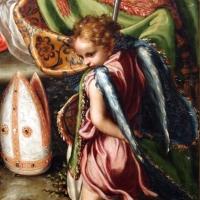 Giorgio gandini del grano, sacra famiglia con santi e angeli, 1534-35, 06 angelo - Sailko - Parma (PR)