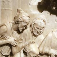 Giovanni antonio amadeo (ambito), adorazione dei magi, 1475-1500 ca., da certosa di parma, 03 pastori - Sailko - Parma (PR)