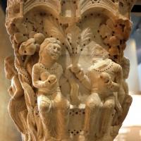 Benedetto antelami, capitello con storie della genesi 01, dal duomo di parma, 1178, peccato originale - Sailko - Parma (PR)