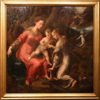 Girolamo mazzola bedoli, matrimonio mistico di santa caterina d'alessandria, 1545 ca - Sailko - Parma (PR)