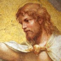 Correggio incoronazione della vergine, 1522 ca., da san giovanni evangelista, 04 - Sailko - Parma (PR)