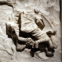 Giovanni antonio amadeo (ambito), fuga in egitto, 1475-1500 ca., da certosa di parma, 04 - Sailko - Parma (PR)