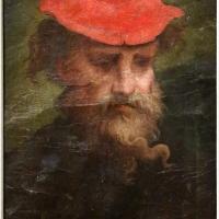 Parmigianino (attr.), autoritratto col cappello rosso - Sailko - Parma (PR)