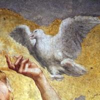 Correggio incoronazione della vergine, 1522 ca., da san giovanni evangelista, 03 colomba dello spirito santo - Sailko - Parma (PR)
