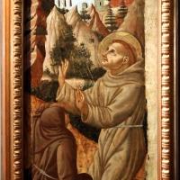 Fra diamante (attr.), san francesco che riceve le stimmate, 1450-70 ca - Sailko - Parma (PR)