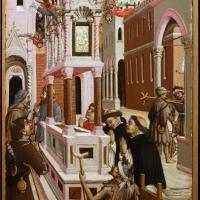 Agnolo e bartolomeo degli erri, polittico di san pietro martire, 1460-90 ca., da s. domenico a modena, 08 - Sailko - Parma (PR)