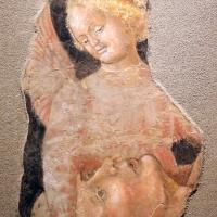 Maestro di roccabianca, san lorenzo confortato da una ngelo, 1460-70 ca., da s. pietro martire a parma - Sailko - Parma (PR)