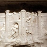 Giovanni antonio amadeo (ambito), fuga in egitto, 1475-1500 ca., da certosa di parma, 02 - Sailko - Parma (PR)