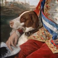 Johann zoffany, don ferdinando di borbone, 02 cane - Sailko - Parma (PR)