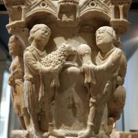 Benedetto antelami, capitello con storie della genesi 02, dal duomo di parma, 1178, sacrificio di caino e abele - Sailko - Parma (PR)