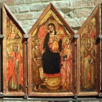 Simone dei crocifissi, altarolo con la madonna col bambino e santi, 1390-99 ca - Sailko - Parma (PR)
