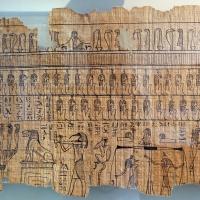 II dominazione persiana-epoca tolemaica, libro dei morti di harimuthes, da tebe, 02 - Sailko - Parma (PR)