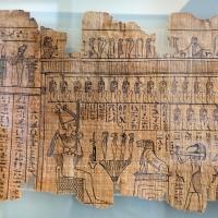 II dominazione persiana-epoca tolemaica, libro dei morti di harimuthes, da tebe, 01 - Sailko - Parma (PR)