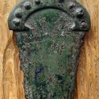Età del bronzo, pugnale a manico fuso di tipo alpino - Sailko - Parma (PR)
