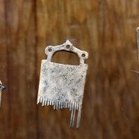 Bronzo medio e recente, pettini in corno di cervo, da castione dei marchesi, xvi-xii secolo ac. ca. 05 - Sailko - Parma (PR)