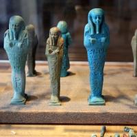 Epoca tolemaica, statuette e ushabti - Sailko - Parma (PR)