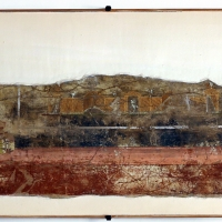 Frammento di intonaco parietale, da veleia, 01 - Sailko - Parma (PR)