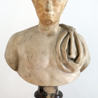 Età giulio-claudia, ritratto giovanile, con busto di restauro del xvii secolo - Sailko - Parma (PR)