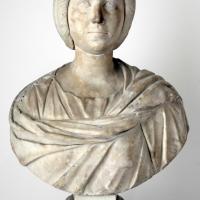 Busto femminile, 190 dc ca, con busto di restauro 01 - Sailko - Parma (PR)