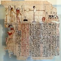 Xviii dinastia, libro dei morti di amenhotep, da tebe, 1580-1320 ac ca. 01 - Sailko - Parma (PR)