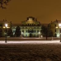 Palazzo del giardino ducale durante una nevicata - Davide Fornari - Parma (PR)