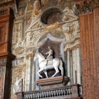 Teatro farnese, statua equestre di ottavio farnese, sopravvissuta al progetto originale seicentesco - Sailko - Parma (PR)