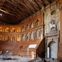 Teatro farnese, ricostruito negli anni 50 secondo i progetti di g.b. aleotti (del 1617-18) 03 - Sailko - Parma (PR)