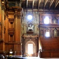 Teatro farnese, ricostruito negli anni 50 secondo i progetti di g.b. aleotti (del 1617-18) 01 - Sailko - Parma (PR)