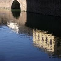 Rocca Sanvitale - fossato e ponte - Micronautilus - Fontanellato (PR)