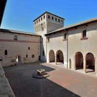 La Corte d'Onore dalla loggetta - Carlo grifone - Langhirano (PR)