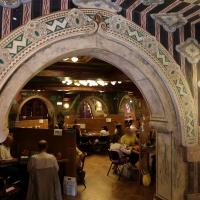 Salsomaggiore, ex-grand hotel, interno, taverna rossa, di galileo chini, 03 - Sailko - Salsomaggiore Terme (PR)