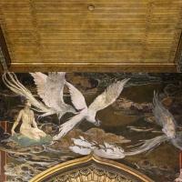 Salsomaggiore, ex-grand hotel, interno, salone moresco, affreschi galileo chini con rivisitazione di Leda e il cigno 05 - Sailko - Salsomaggiore Terme (PR)