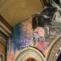 Salsomaggiore, ex-grand hotel, interno, salone moresco, affreschi galileo chini con rivisitazione di Leda e il cigno 03 - Sailko - Salsomaggiore Terme (PR)
