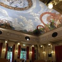 Salsomaggiore, ex-grand hotel, interno, salone delle cariatidi, di galileo chini, 01 - Sailko - Salsomaggiore Terme (PR)