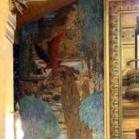 Salsomaggiore, ex-grand hotel, interno, salone moresco, affreschi galileo chini con rivisitazione di Leda e il cigno 11 - Sailko - Salsomaggiore Terme (PR)