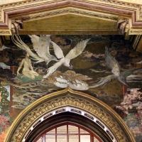 Salsomaggiore, ex-grand hotel, interno, salone moresco, affreschi galileo chini con rivisitazione di Leda e il cigno 04 - Sailko - Salsomaggiore Terme (PR)