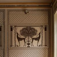 Salsomaggiore, ex-grand hotel, interno, monocromi di galileo chini, uccelli del paradiso 01 - Sailko - Salsomaggiore Terme (PR)
