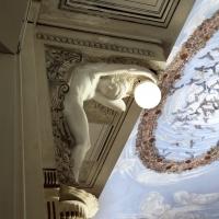 Salsomaggiore, ex-grand hotel, interno, salone delle cariatidi, di galileo chini, protome con lucerna di Salvatore Aloisi - Sailko - Salsomaggiore Terme (PR)